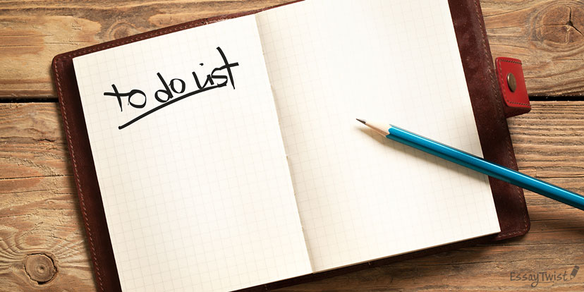 Writing To-Do List