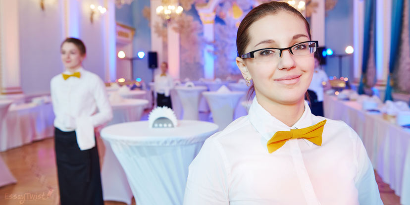 Young Waitress